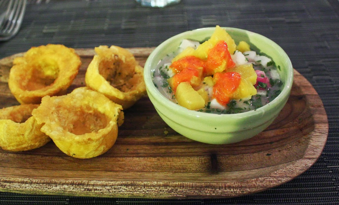 Ceviche, Food in Panama