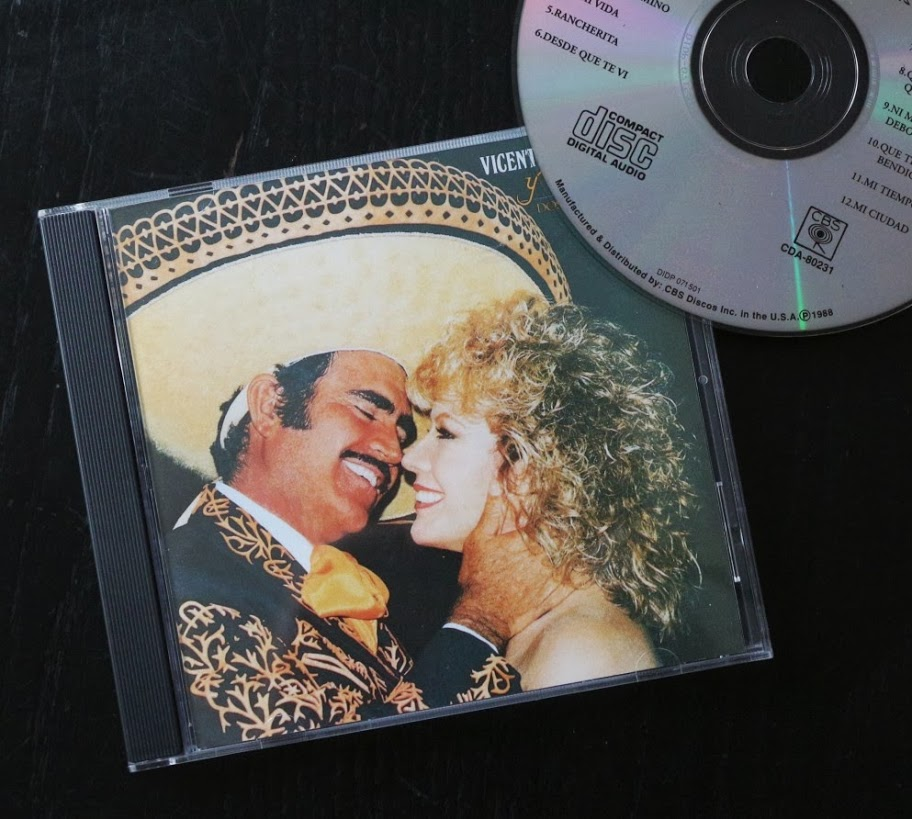 Vicente Fernandez, music for fisherman while working in panama