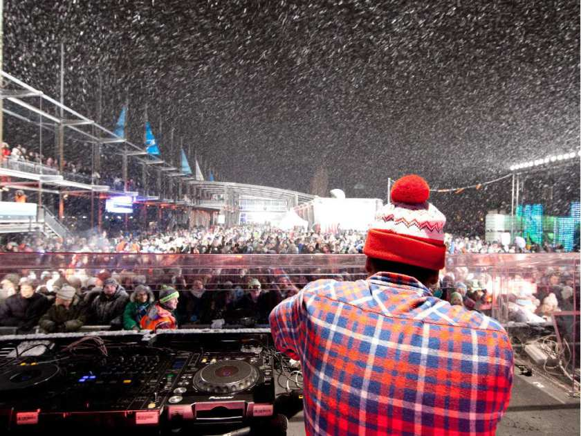 Igloofest, Montreal, canada