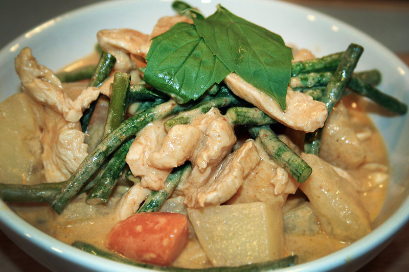 panang chicken curry recipe
